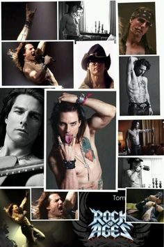 """Soooo not normally a Tom Cruise fan. But, in """"Rock of Ages""""...omg. dead sexy!!!"""