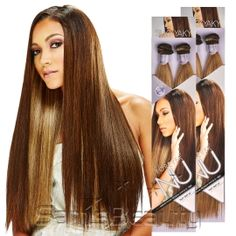 Bobbi Boss Synthetic Hair Weave Forever Nu Silky Yaky - SamsBeauty
