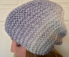 Lightweight Slouch Beanie by bricoknits on Etsy