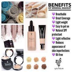 Why use mineral makeup? Fall!  YOUNIQUE # foundation #concealer #Chemicalfree #crueltyfree #naturalmakeup #madeinUSA #eyeshimmmer #splurge #creamshadow #cosmetics #workfromhome #halloween #halloweenmakeup #fallmakeup