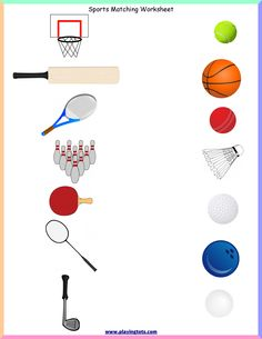 Free printable for kids (toddlers/preschoolers) flash cards/charts/worksheets/(file folder/busy bag/quiet time activities)(English/Tamil) to play and learn at home and classroom. Sports Activities For Kids, Quiet Time Activities, Card Games For Kids, Classroom Activities, Homeschool Kindergarten, Free Printable Worksheets, Preschool Worksheets, Toddler Chart, Toddler Sports