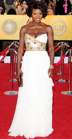 Viola Davis 2012 SAG Awards