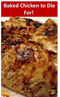 The Best Baked Chicken to Die For! This is The Best Baked Chicken to Die For Recipe. you can find recipe completed in here link, Chicken Breast Recipes Healthy, Baked Chicken Recipes, Healthy Recipes, Benyas Recipe, Find Recipe, Recipe Ideas, Entree Recipes, Cooking Recipes, Dishes Recipes