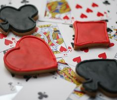 Gamble everything for love ♠️♥️♣️♦️ decorated cookies #ButterLove