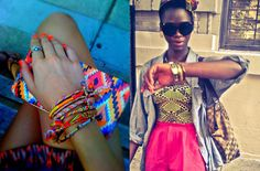 im so loving both neon and tribal trends right now
