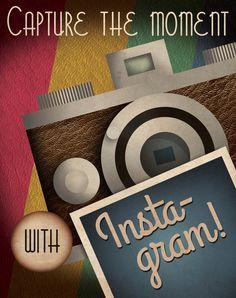 Instagram Propaganda Poster by Justonescarf on Etsy, $12.50
