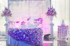 Юлия и Дмитрий: шикарная классическая свадьба с венчанием