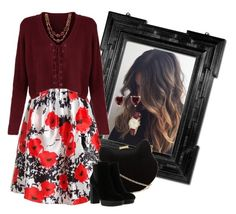 Untitled #1272 by renisin on Polyvore featuring Sans Souci, Hogan, New Look, Coach and Talbots