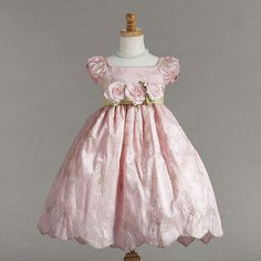 Gorgeous Embroidered Pink Boutique Flower Girl Dress USA   eBay