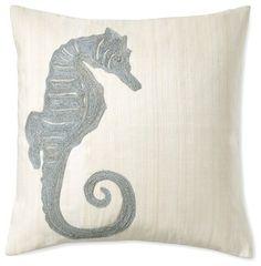.Seahorse Pillow