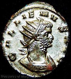 Coins & Paper Money Coins: Ancient Systematic Ancient Roman Salonina Silver Antoninianus