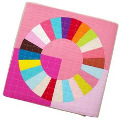 Image of Color Wheel Block - FOUNDATION PAPER PIECING PATTERN