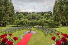 Confetti Magazine Irish Wedding Venue of the Month August - Boyne Hill Estate Wedding Catering, Wedding Venues, Irish Wedding, House On A Hill, Confetti, Dolores Park, Magazine, Travel, Wedding Reception Venues