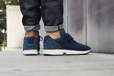 Adidas On Feet | hypedc: adidas Originals ZX Flux Premium 'Core...