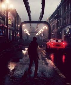Infamous Second Son - yea this is a video game. but its so beautiful its more like a work of art