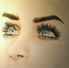:::eyes::: hair:: styles:: beauty:: tumblr::drawing
