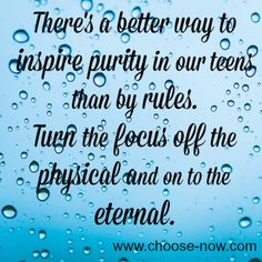 A Positive Way to Inspire Purity in Your Teens