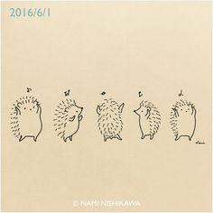 Image result for easy to draw cartoon hedgehog