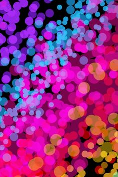 neon colorful IPhone Wallpaper