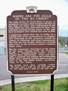 Where Are The Falls?