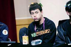 Lmao he's so cute wtf  #atom #toppdogg #sanggyun #kimsanggyun #toppdoggatom #atomtoppdogg #atom_toppdogg #toppdogg_atom #a-tom #kpop #toppklass #toppkeuls