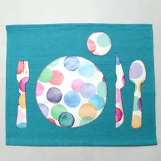 The Montessori placemat help the kids to properly arrange the utensils on the table.  The kitchen is a very educational living space for your children