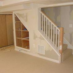 New Finish Basement Stairs