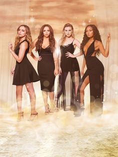 Little Mix Photoshoot for Gold Magic. Leigh-Anne is really working it. ✌️