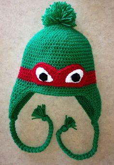 Teenage Mutant Ninja Turtles Crochet Hat