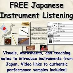 Japanese Music in Elementary Music. Bring world music into the general music room with these in-depth, authentic lesson plans from world music and Japan expert. Online Music Lessons, Music Lessons For Kids, Music Lesson Plans, Music Education Games, Teaching Music, Embrace The Chaos, Music Classroom, Music Teachers, Classroom Ideas