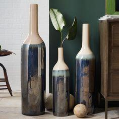 Luster Floor Vases   west elm