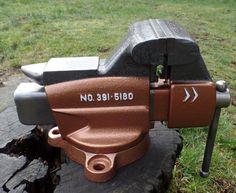 "Vintage Craftsman Swivel Bench Mount Combination Vise 3 5"" Jaws 391 5180 Vice | eBay"