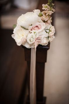 Ideas Bridal Flowers Rustic For 2019 Church Wedding Decorations Aisle, Bridal Shower Decorations, Flower Decorations, Wedding Church, Bridal Bouquet Fall, Bridal Flowers, Wedding Bouquets, Boquet, Romantic Wedding Colors