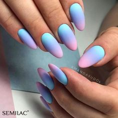 Best Summer Matte Nails Designs You Must Try - Nail Art Connect # mattenails . - Best Summer Matte Nails Designs You Must Try – Nail Art Connect # mattenails # summe … - Summer Acrylic Nails, Best Acrylic Nails, Matte Nail Art, Best Nails, Hair And Nails, My Nails, Nails Today, Gel Ombre Nails, Ombre Nail Art