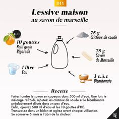 My homemade laundry soap Marseille Safe Cleaning Products, Cleaning Solutions, Cleaning Hacks, Limpieza Natural, Homemade Cosmetics, Cleaners Homemade, Maker, Green Life, Frugal