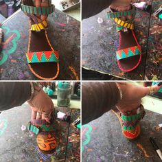 It's so much warmer outside so it made me want to get my fav sandles deidrafied! #paintedshoes #handpaintedshoes #handpainteverything #recycledart #hippie #hippieart #woodstockga #bluefrogimports #bluefrogart #deidrafy #woodstockga #bluefrogimports #bluefrogart #deidrafy #folkart #bohemian #handpainted #buylocal #buysmall #bohemianhacienda