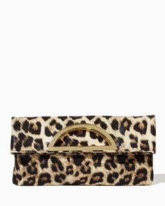 charming charlie | Over the Moon Leopard Clutch | UPC: 410006914766 #charmingcharlie