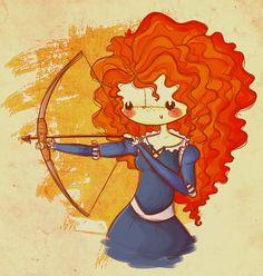 """como ya se me estan terminando las princesas que me quedan por dibujar, creo que voy a empezar a hacer una serie de """"princesas modernas"""" o como sea, adaptandolas al 2012 (? esta es la primera de mu..."""