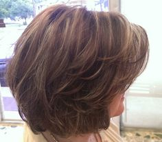 20 Chic Bob Haircut with Layers – Hair Styles Short Layered Bob Haircuts, Layered Bob Hairstyles, Short Hairstyles For Women, Hairstyles 2018, Wedding Hairstyles, Short Hair With Layers, Short Hair Cuts, Layered Short Hair, Medium Length Layered Bob