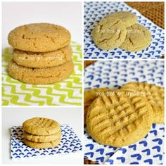 Soft & Chewy Peanut Butter Cookies. |Real Food Girl: Unmodified