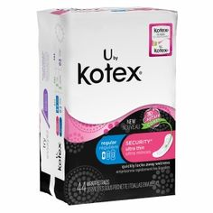 Buy U by Kotex Security Ultra Thin Pads, Regular with free shipping on orders over $35, low prices & product reviews | drugstore.com