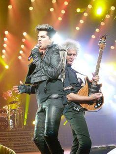 Adam and Brian May