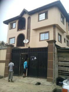 6 nos 3 bedroom flats at Ojota - For Sale - Flat - Lagos, Ojota - Olab 3 Bedroom Flat, Real Estate Information, Flats For Sale, Mansions, Street, House Styles, Home, Ad Home, Luxury Houses