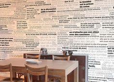 Papier peint original & décoration murale en édition limitée : Papier peint PROVERBES en Noir et Blanc format panoramique Ohmywall