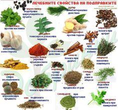 Лечебни подправки / medicinal herbs