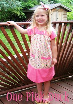 summer dress for Joyce...little girl even looks like her!