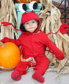 Bits Of Everything Guest Post-Halloween costumes on a budget  sc 1 st  Pinterest & Crab costume I will soon be making | Costumes | Pinterest | Crab ...