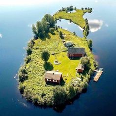 A small island in Rovaniemi, Finland. Browse new photos about A small island in Rovaniemi, Finland. Most Awesome Funny Photos Everyday! Because it's fun! Beautiful Islands, Beautiful World, Beautiful Places, Beautiful Dream, Wonderful Places, Amazing Places, Little Island, Small Island, Floating Island