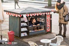 El mini kiosko de Coca-Cola « Tiempo de Publicidad
