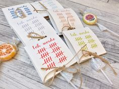 Eine ganz besonders süße Art und Weise Eure Geburtstagsgäste zu Eurem nächsten runden Geburtstag einzuladen, sind diese mit der Einladung umhüllten Lollies :)  Den Einladungstext auf der...